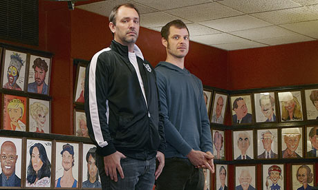 Very Important people … Trey Parker and Matt Stone are open for
