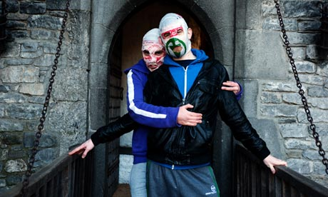 Rubberbandits at Bunratty Castle, Ireland