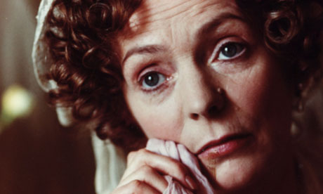 Alison Steadman as Mrs Bennet in the 1995 BBC adaptation 