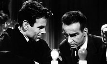 Maximilian Schell and Montgomery Clift in Judgement at Nuremberg (1961)