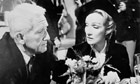 Spencer Tracy and Marlene Dietrich in Judgment at Nuremberg (1961)