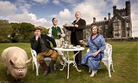 Timothy Spall at Blandings