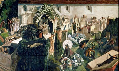 Stanley Spencer's Resurrection at Cookham