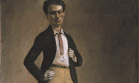 Balthus self-portrait