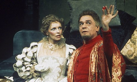 Paul Scofield in the National Theatre's Volpone