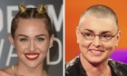 Sinéad O'Connor threatens Miley Cyrus with legal action after mental illness tweet