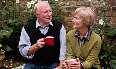 Neil and Glynis Kinnock