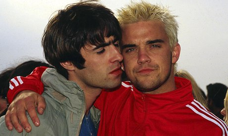 Robbie Williams versus Oasis: the feud that never ends