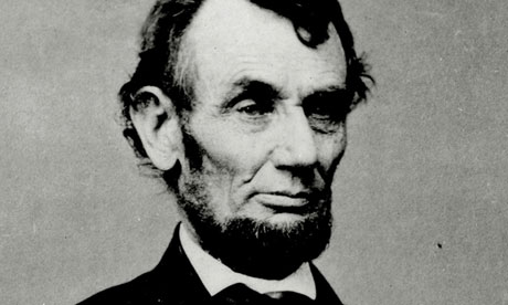 Face value … Abraham Lincoln, the 16th US president.
