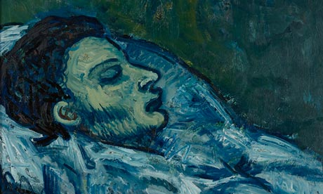 Cassagemas in His Coffin  001 Picasso in Paris: raw works of genius from the artist as a young man