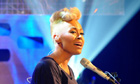 Graham Norton Show - Emeli Sande performs on The Graham Norton Show in London