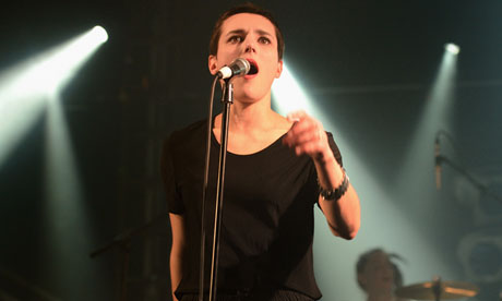 NME Awards Gigs 2013: Savages Perform At The Electric Ballroom