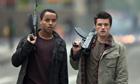 Connor Cruise and Josh Hutcherson in Red Dawn (2012)