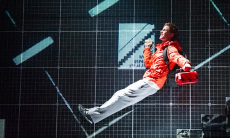 Luke Treadaway in The Curious Incident of the Dog In the Night-Time