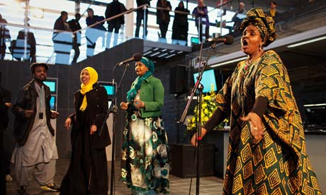 De Gabay, a theatre production based on the work of five Somali-Welsh poets
