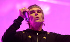 Singer Ian Brown of the Stone Roses at Coachella 2013