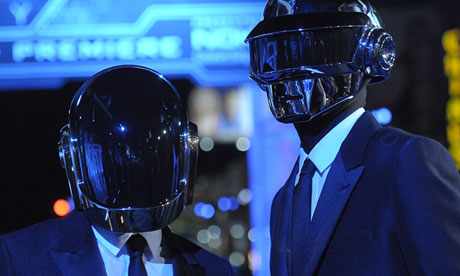 Guy-Manuel de Homem-Christo (left) and Thomas Bangalter of Daft Punk