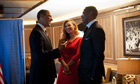 Scout Tufankjian photograph of Barack Obama meeting Beyonc&eacute; and Jay-Z