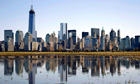 New York City, Lower Manhattan skyline