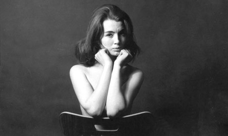 Lewis Morley's photograph of Christine Keeler 1963.