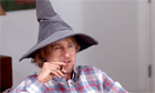 Owen Wilson as Gandalf in a YouTube comedy week sketch