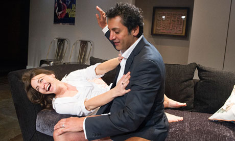 Disgraced, at the Bush theatre, London