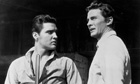 Steve Forrest (right) alongside Elvis Presley in Don Siegel's 1960 western Flaming Star Photograph: 20th Century Fox/Getty Images