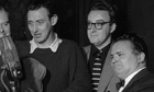 Harry Secombe, Peter Sellers and Spike Milligan in 1955