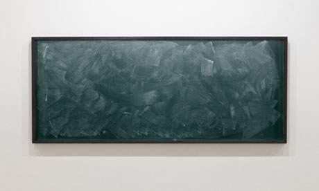 Alejandro Guijarro blackboard photograph