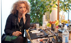 'Acting was my way of getting noticed' ... Alex Kingston in her dressing room. Photograph: Graham Turner for the Guardian