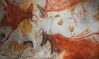Perigord Noir, Vallee de la Vezere, Montignac sur Vezere, Grotte de Lascaux II, cave paintings