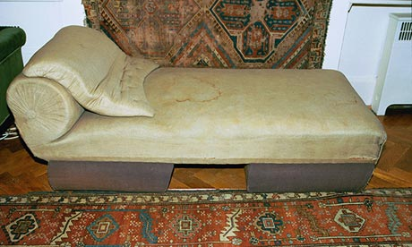 Analyse this: has Freud's sofa become a religious relic ...