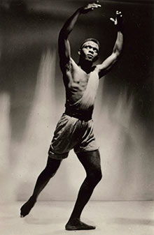 Mover and shaker … Elroy Josephz, who joined Les Ballets Nègres in 1952 and became one of the UK's f