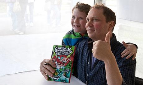 Children's writer Dav Pilkey, author of the Captain Underpants