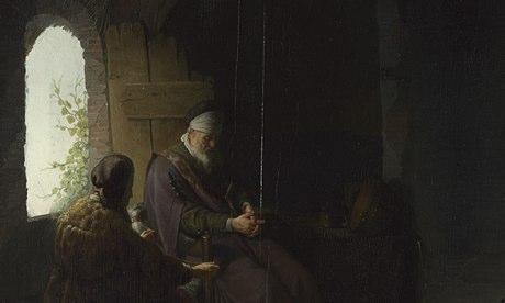 Rembrandt, Anna y Ciegos Tobit