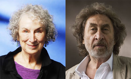 Margaret Atwood and Howard Jacobson