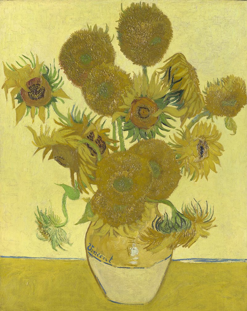 van goghs sunflowers Vincent van gogh was born the second of six children into a religious dutch reformed church family in the south of the  van gogh: sunflowers, letters & life.