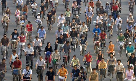 Rush hour in Beijing