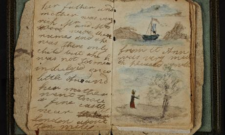 Earliest known writings of Charlotte Brontë