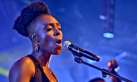 Laura Mvula Performs At The Camp Bestival Festival 2014 In Dorset