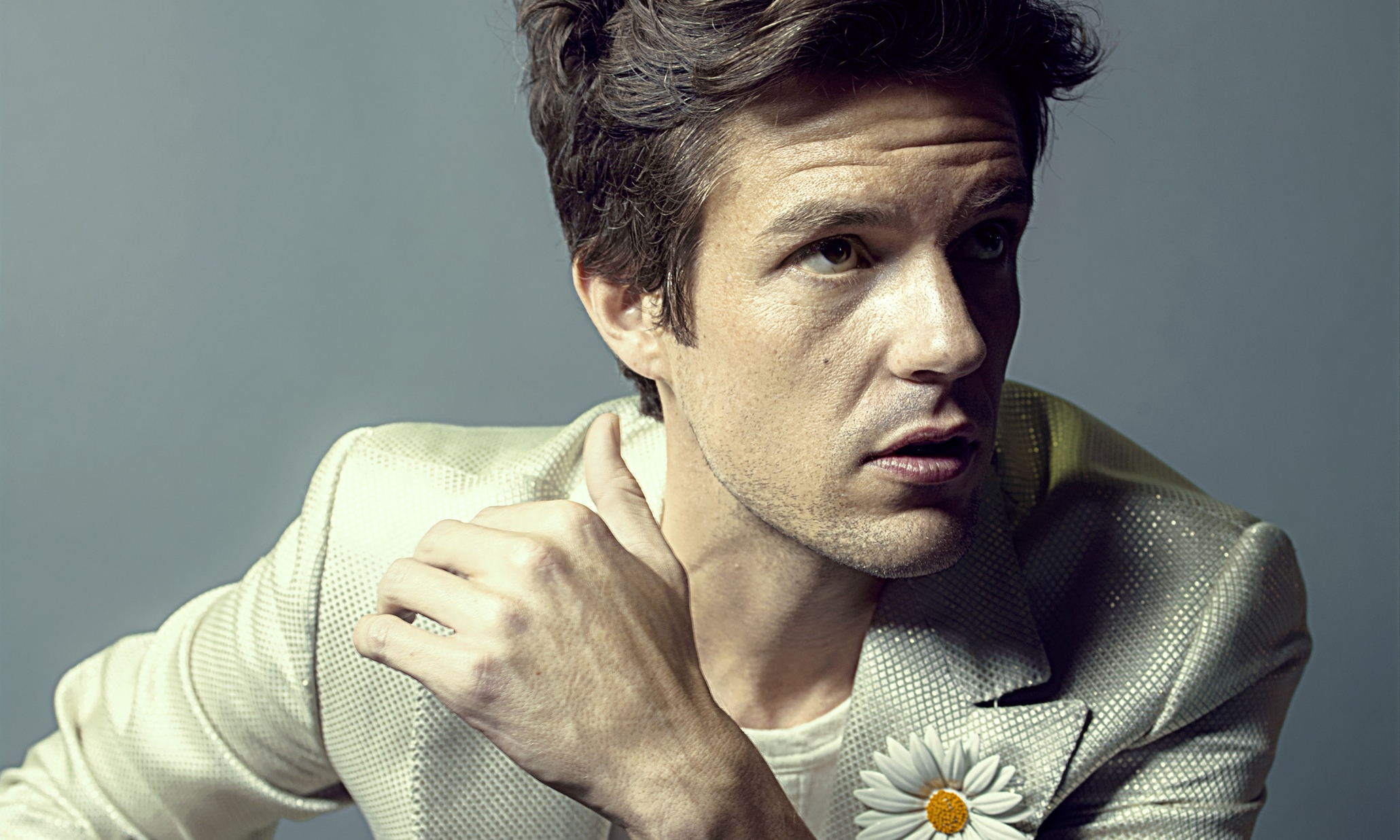 Brandon Flowers The Desired Effect Review Slick 80s