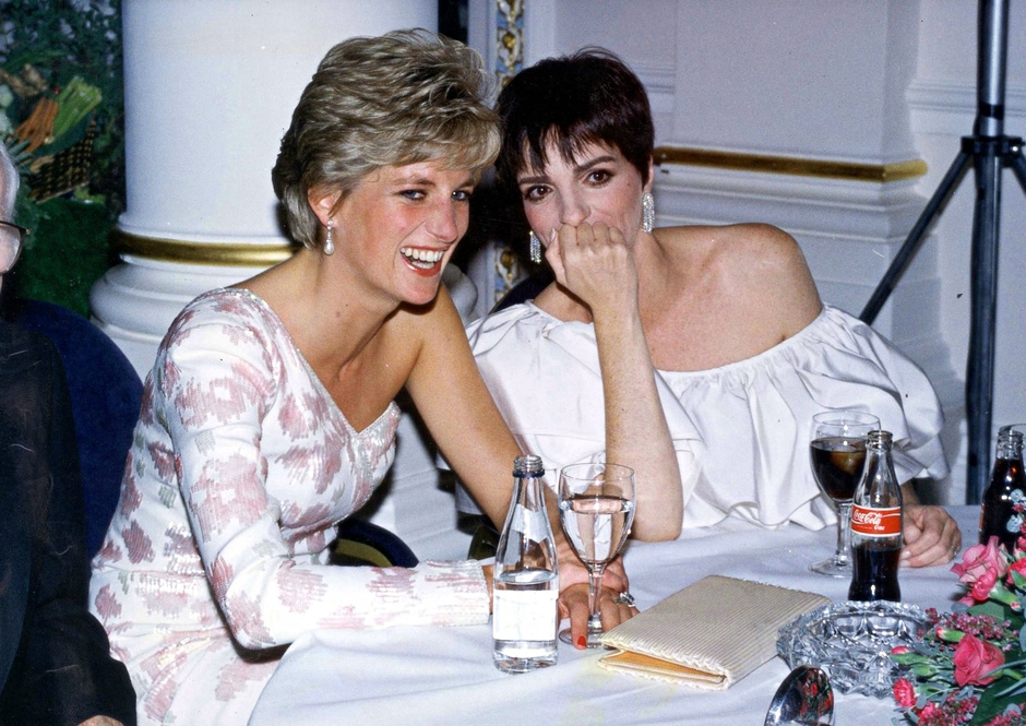 Dave Benetts Best Photograph Princess Diana And Liza Minnelli At A Film Premiere After party