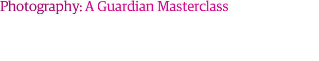 Photography: A Guardian masterclass badge
