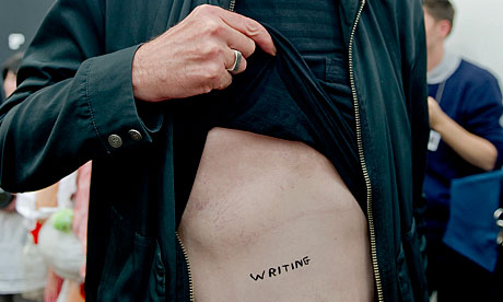 Written on the body: how about a literary tattoo?