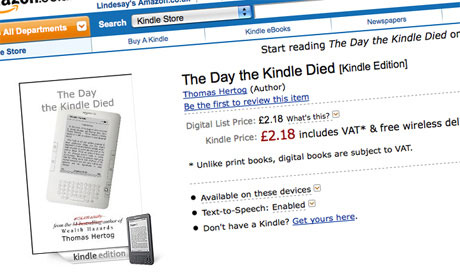 The Day the Kindle Died