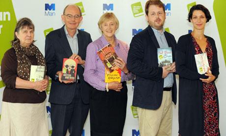 Man Booker prize 2011 jury