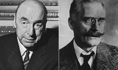Pablo Neruda and Knut Hamsun