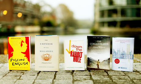Guardian first book award shortlist