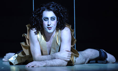 Alan Cumming in The Bacchae