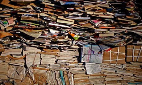 Recycling centre in Beijing